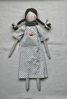 handmade doll by ESZTERDA