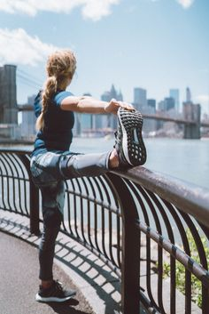 Add the black UltraBOOST running shoe to your collection for the ultimate experience. Whether you take your training to flat land or vertical sessions, the UltraBOOST provides relief and stability every step of the way.  Explore Sasha Digiulian's must-haves today.