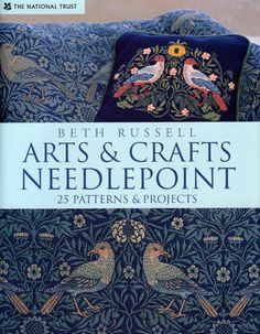 An exquisite collection of 25 charted designs from the Arts & Crafts Movement of the late nineteenth century created by Britain's renowned Beth Russell. Inspired by the work of William Morris, William de Morgan, and Tiffany. ISBN 13-9-781905-400430