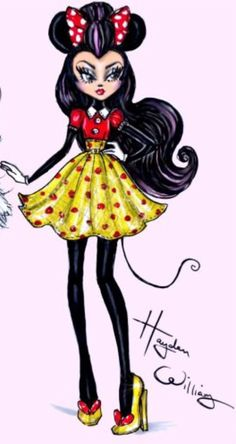 Minnie Mouse by Hayden Williams