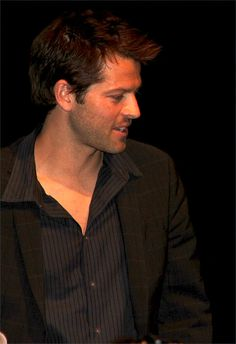 The ever sexy Misha Collins. Oh I'm loving this angle!