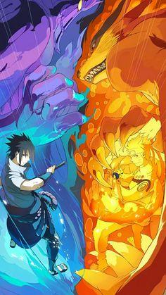 Sasuke Uchiha and Naruto Uzumaki anime naruto Anime Naruto, Naruto Shippuden Sasuke, Susanoo Naruto, Manga Anime, Sasuke X Naruto, Gaara, Naruto Shippuden Nine Tails, Naruto And Sasuke Wallpaper, Wallpaper Naruto Shippuden