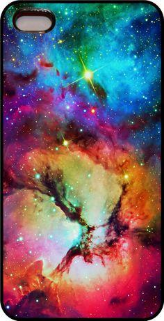 Fox Fur Nebula Galaxy Space Phone Case cover Apple iPhone 4s 5 5s 6 6+ design 4