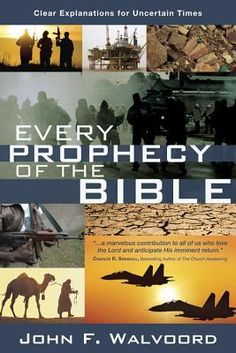 """Unprecedented natural disasters, political uprisings, and economic uncertainty: The Bible predicted it all. Now you can understand it--and know what's coming next.  As we watch world events unfold, biblical prophecy becomes a subject of intense interest. """"Every Prophecy of the Bible"""" brings clear answers to more than 1,000 key prophecies, backed with solid Scriptural evidence. Noted biblical scholar Dr. John F. Walvoord covers each prophecy from Genesis to Revelation, giving detailed insight…"""