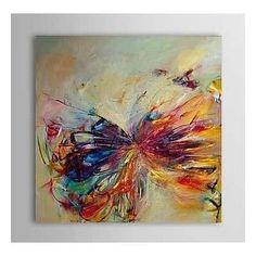 Cuadros Abstractos Grandes Pintados A Mano - $ 1.800,00 en Mercado Libre