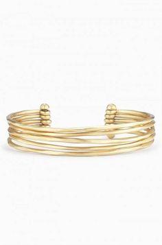 Gold Bangle Bracelet | Stella & Dot