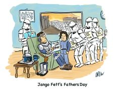 Happy Father's Day to the Father of the Grand Army of the Republic, for without him there would be no Galactic Empire!