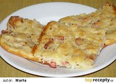 Zelná placka recept - TopRecepty.cz Quiche, Macaroni And Cheese, Cabbage, Pizza, Food And Drink, Low Carb, Vegan, Cooking, Breakfast