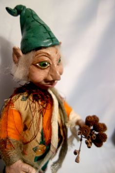 BENJAMIN 12 30 cm Tall One Of A Kind  Elf Gnome