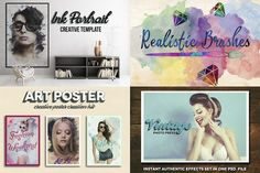 Creative Art Bundle (50% off) by Charles Perrault Artworks on @creativemarket