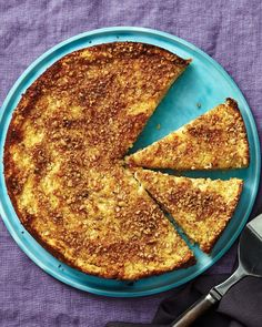 Apple Matzo Cake - Martha Stewart Recipes good for Passover and more!