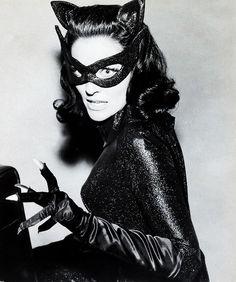 Lee MeriwetherasCatwoman for the 1966 Batman film