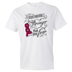 inktastic Testicular Cancer Awareness Faith Over Fear Infant Tutu Bodysuit