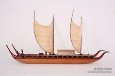 A double hull Marquesan Voyaging Canoe. www.hawaiiancanoes.com