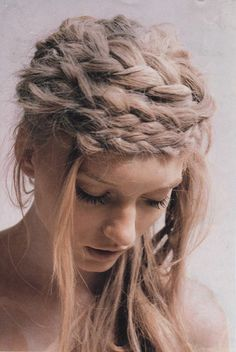 Braids.  #maiden #hair #fashion