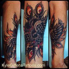 pheonix tattoo old school - Google Search