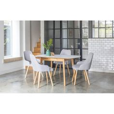 Fairway Extendable Dining Set with 4 Chairs Norden Home