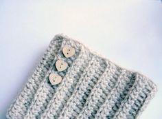 PDF crochet pattern Ribbed Boot cuff, leg warmers short chunky socks- DIY tutorial - Quick and easy gift