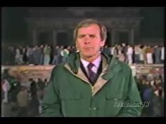 NBC News coverage of the fall of the Berlin Wall hosted by Tom Brokaw at the Brandenburg Gate, November 1989. Part 1 of 2. The exact date of this report is most likely November 10, 1989.