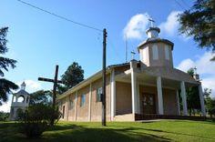 Igreja ucraniana da comunidade de Campina de Cima, município de Antônio Olinto