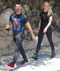 Joe Jonas and Sophie Turner Out in LA June 2017 | POPSUGAR Celebrity