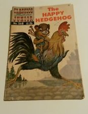 CLASSICS ILLUSTRATED JUNIOR #568 - THE HAPPY HEDGEHOG - 1967