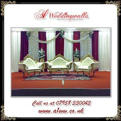 """""""Where there is love there is life."""" For decorative stages call us at 07958 330043.  #lovequotes #Life #Wedding #weddingplanning #stage #stagedecoration"""