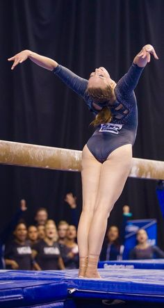 That college salute Gymnastics Posters, Gymnastics Photography, Gymnastics Pictures, Sport Gymnastics, Artistic Gymnastics, Olympic Gymnastics, Katelyn Ohashi, Female Gymnast, Sporty Girls