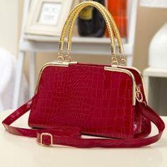 New arrive women leather handbag fashion stone pattern shoulder bags Bride totes Europe style women messenger bags