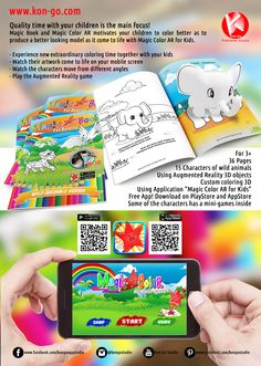 kon-go.com Magic Book, Motivate Yourself, Quality Time, Your Child, Coloring Books, Children, Kids, How To Look Better, Things To Come