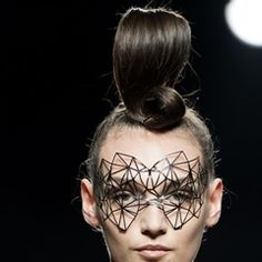 Maya Hansen Fashion Show at the Mercedes-Benz Fashion Week in Madrid