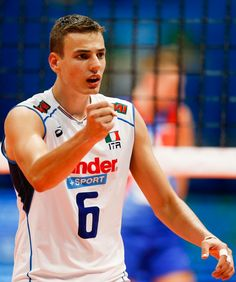Simone Giannelli- Italy Men's Volleyball