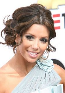 This is one of my favorites... it is a lose and fun hair style and I can pin the veil high at the back