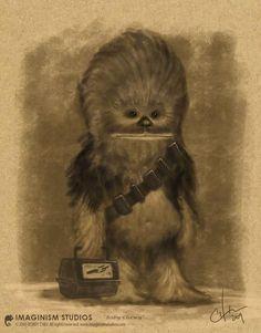 Primer día de escuela al estilo Wookie :)
