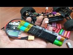 Como Fabricar Baterías 2s 18650 Para Usar Como Baterías Lipo ideias e in... Electric Push Bike, Model Airplanes, Ideas