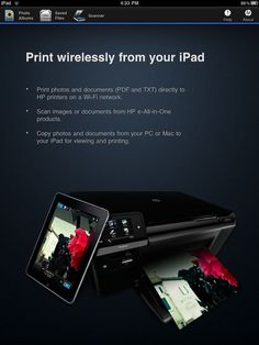 Yes, You Can Print from the iPad