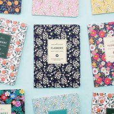 Flowery Monthly Journal Small Diary Scheduler Journal Monthly Weekly Planner | eBay