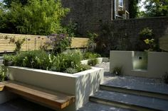 rendered tiers front garden - Google Search