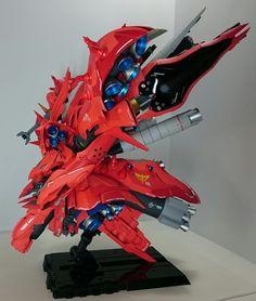 Custom Build: RE/100 Nightingale Kun - Gundam Kits Collection News and Reviews