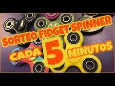 Sorteo de 100 fidget spinner RAROS A CADA 5 MINUTOS (Mundial) 😱🤤 ENTRO E...