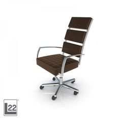 High Back Executive Chair by CORT. For the modern office from the Lounge 22 Collection.