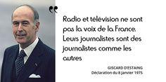 La loi du 7 août 1974 a fait éclater l'ORTF. Giscard veut rompre avec ce symbole gaulliste...