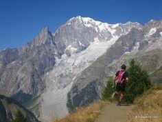 ¿Qué es Trail Running? Senderos de Courmayeur a Grand. Col Ferret. Un rincón de pura magia.