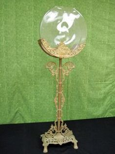 antique fish bowl stand