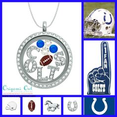 Indianapolis Colts inspired locket