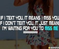 I'm waiting.