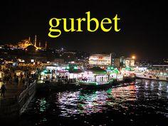 ---------- gurbet ---------- gurbette gurbetçi Artık gurbet yok mu? ---------- https://www.facebook.com/LaytmotifSprachkalender/ http://www.laytmotif.de Foto: Eminönü, #Istanbul ---------- Fremde ---------- in der Fremde  In der Fremde (Ausland) Lebender  Gibt es die Fremde nicht mehr? ----------