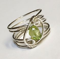 A bit of GREEN for the Irish St Patrick's Day in my #etsy shop: Peridot Ring, August Birthstone, Peridot Jewelry, Peridot Gemstone Ring, Sterling Silver Ring, http://etsy.me/2CSGrRL #jewelry #ring #green #oval #peridot #silver #peridotring #peridotjewelry #hjavip