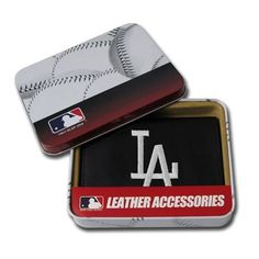 Los Angeles Dodgers MLB Embroidered Trifold Wallet