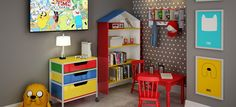 CompartilharQuartos Montessorianos são tendência na decoração infantil Ambiente é composto por mobiliário que valoriza a independência e liberdade das crianças A decoração Montessoriana propõe uma organização prática e funcional dos
